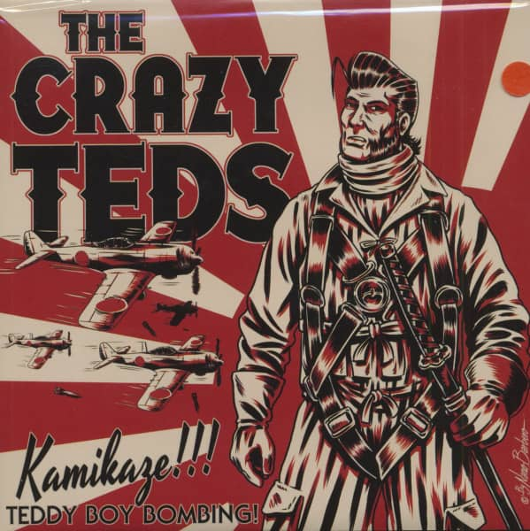 Kamikaze (7inch, 45rpm, Red Vinyl, EP, PS)