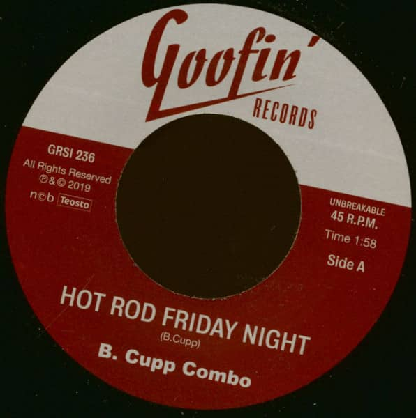 Hot Rod Friday Night - Go! Come Back (7inch, 45rpm, Ltd.)