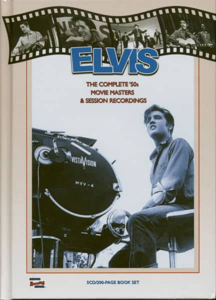 The Complete '50s Movie Masters & Session Recording (5-CD, 200 Page Book)