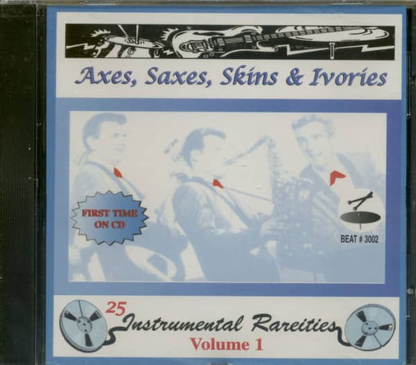 Axes, Saxes, Skins &ampamp; Ivories (CD)