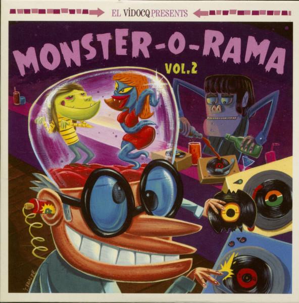 Monster-O-Rama Vol.2 (LP+CD)