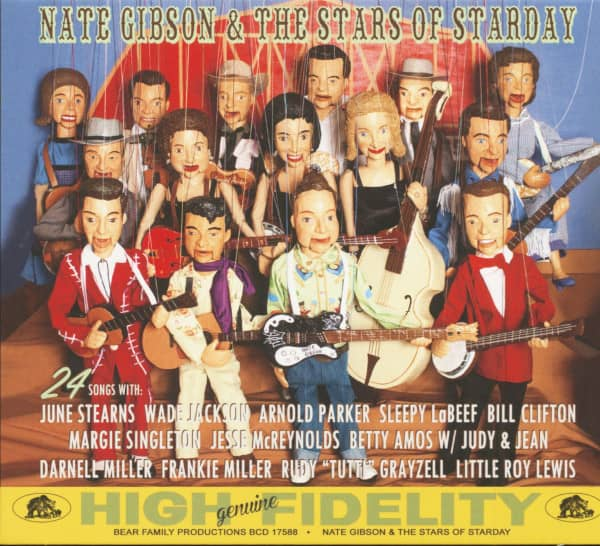 Nate Gibson & The Stars Of Starday (CD)