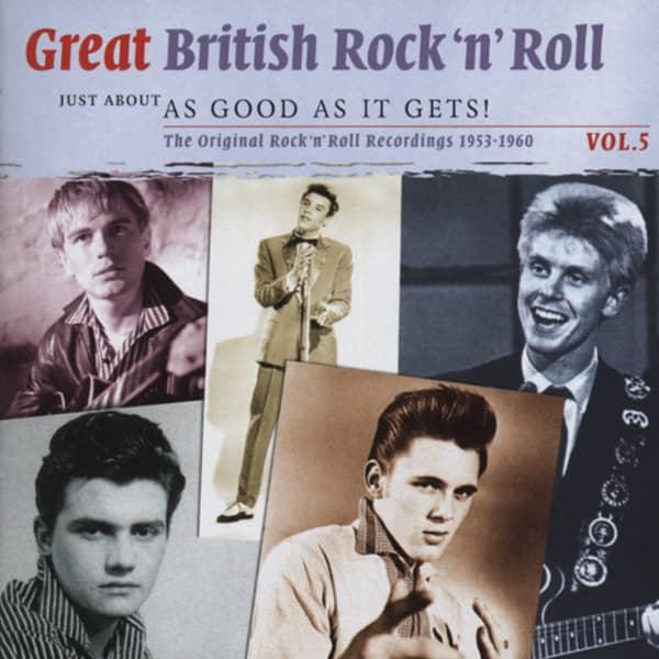 Vol.5, British R&R - As Good As It Gets 2-CD