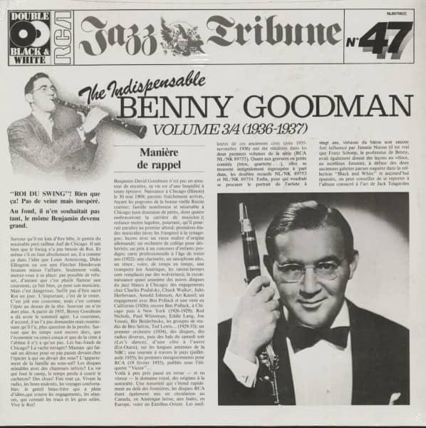 The Indispensable Benny Goodman - Vol.3&4 (2-LP)