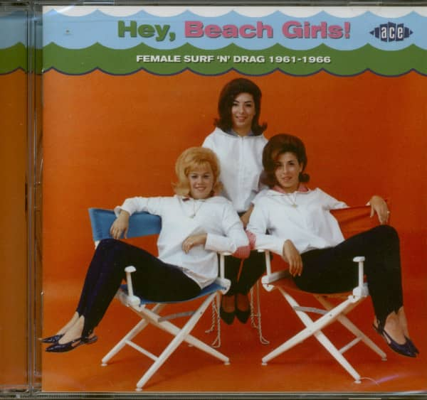 Hey, Beach Girls - Female Surf & Drag 1961-66 (CD)