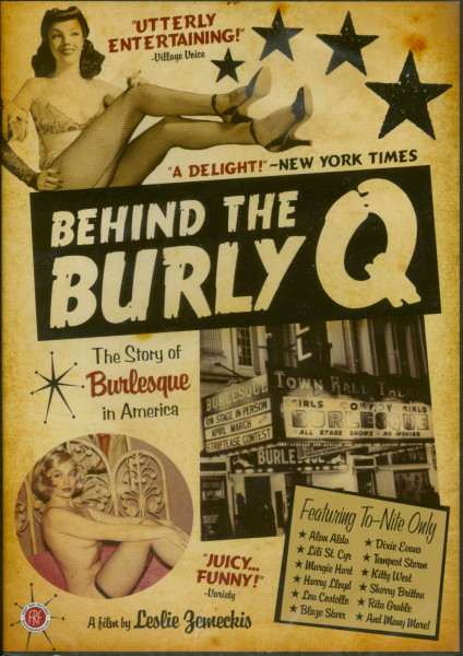 Behind The Burly Q - The Story Of Burlesque (DVD)