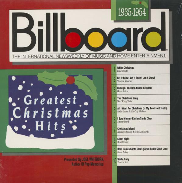 Billboard Greatest Christmas Hits - 1935 - 1954 (LP)