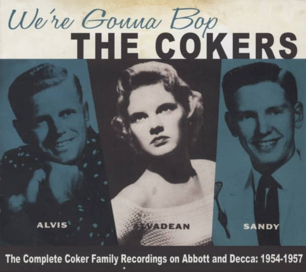 We're Gonna Bop - The Complete Recordings on Abbott and Decca 1954-1957