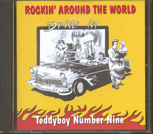 Teddyboy Rock'n'Roll Vol.9 - Rockin' Around The World (CD)