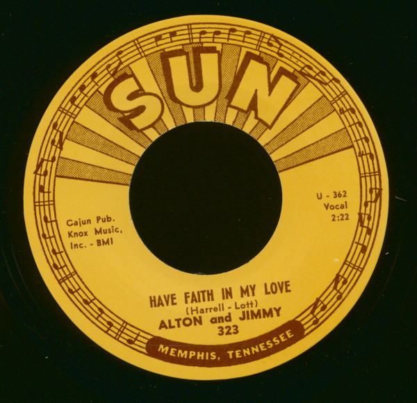 Have Faith In My Love - No More Crying The Blues - (7inch, 45rpm)