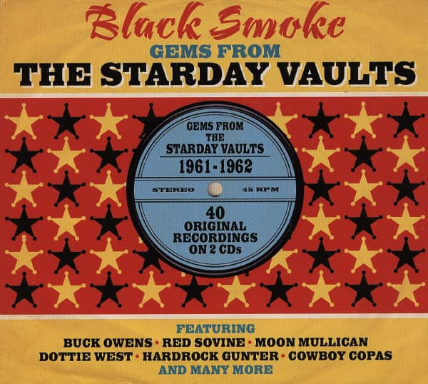 Black Smoke - Gems From The Starday Vaults (2-CD)