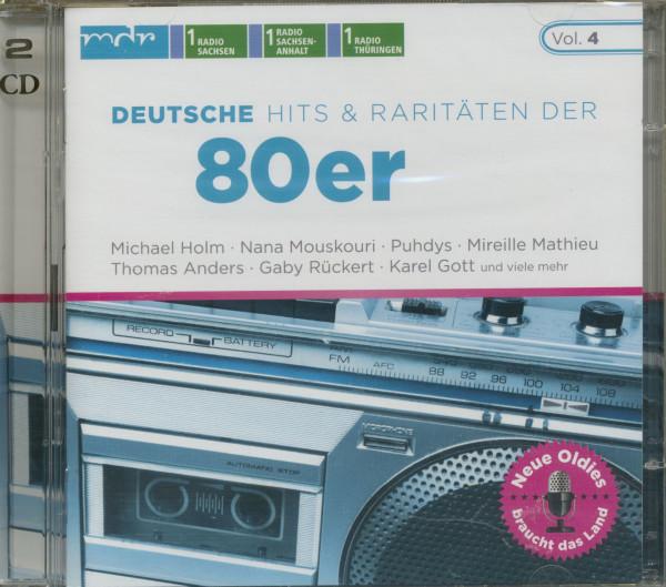 Deutsche Hits & Raritäten 80er (2-CD)