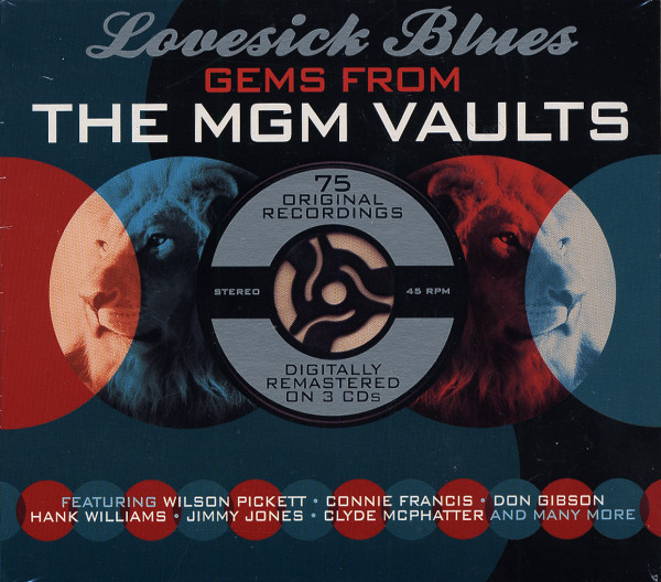 Lovesick Blues - Gems From The MGM-Vaults (3-CD)
