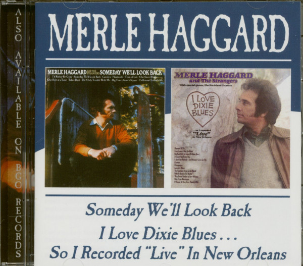 Someday We'll Look Back & I Love Dixie Blues (CD)