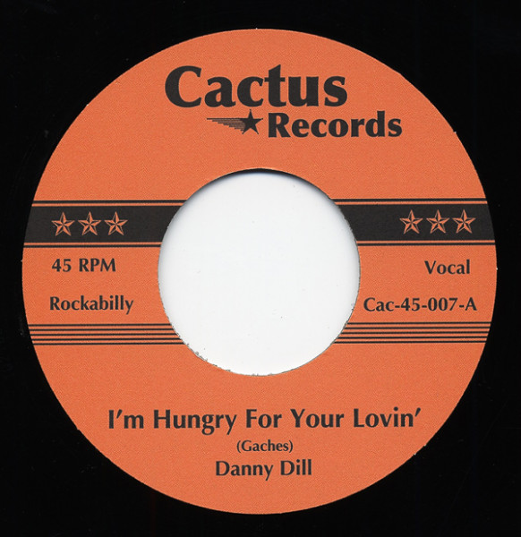 Hungry For Your Lovin' b-w All I Can Do Is Cry 7inch, 45rpm