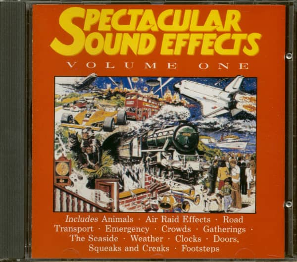 Spectacular Sound Effects - Volume One (CD)