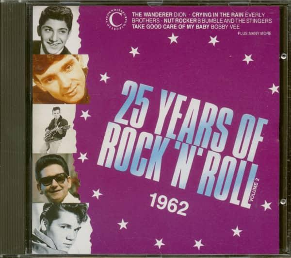 25 Years Of Rock 'N' Roll 1962 - Volume 2 (CD)