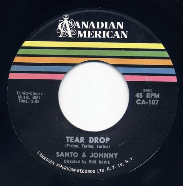 Tear Drop - The Long Walk Home 7inch, 45rpm