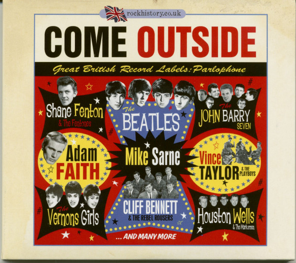 Come Outside - Great British Record Labels: Parlophone (2-CD)