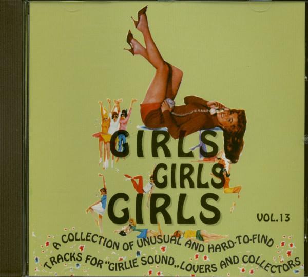 Girls, Girls, Girls Vol.13 (CD)