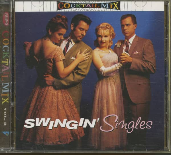 Cocktail Mix, Vol.3 - Swingin' Singles (CD)