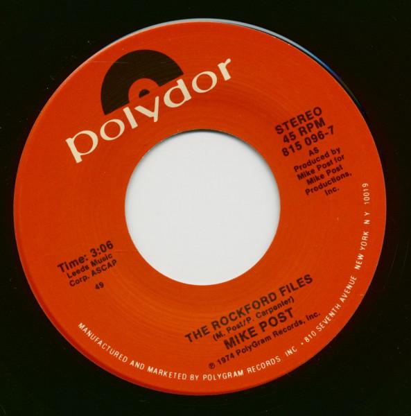 The Rockford Files - Love Boat Theme (7inch, 45rpm)