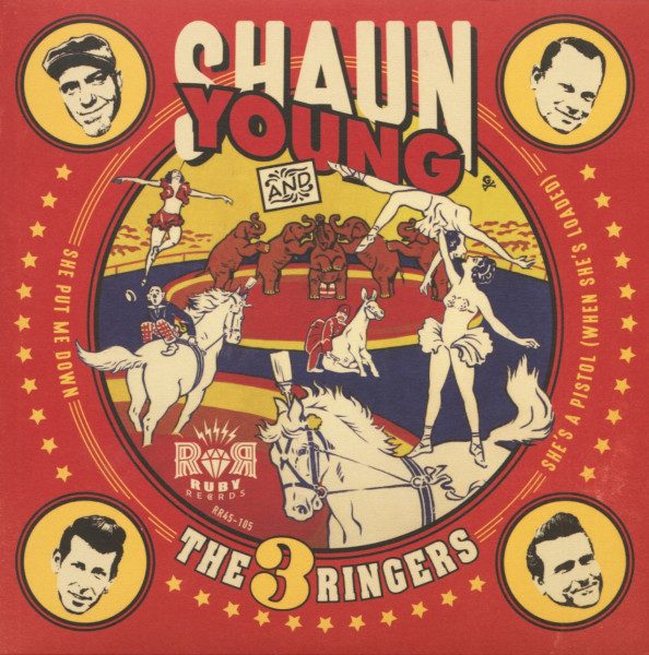 Shaun Young And The 3 Ringers (7inch, 45rpm, PS)
