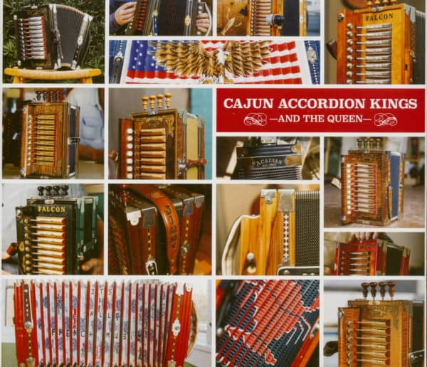 Cajun Accordion Kings (and the Queen) (CD)