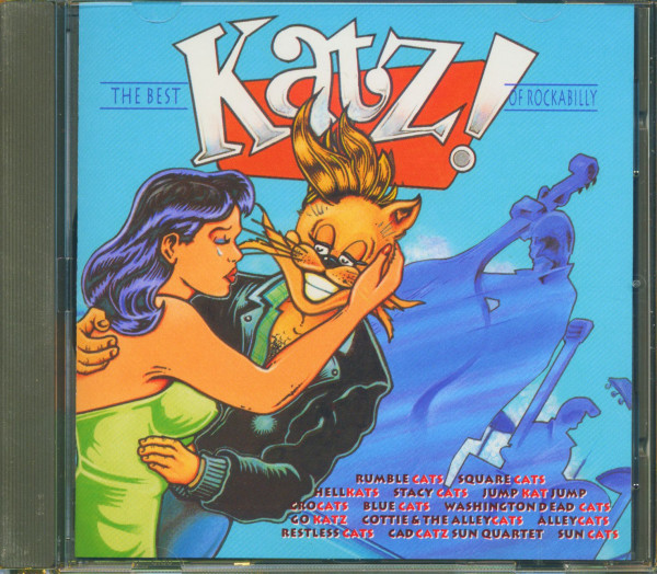 The Best 'Katz!' Of Rockabilly (CD)
