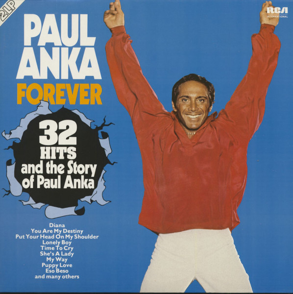Forever - 32 Hits And The Story Of Paul Anka (2-LP)