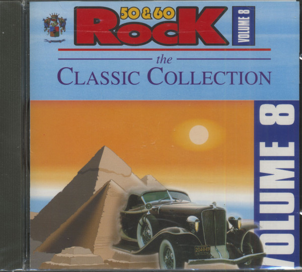 Rock '50 & '60 The Classic Collection Vol.8 (CD)
