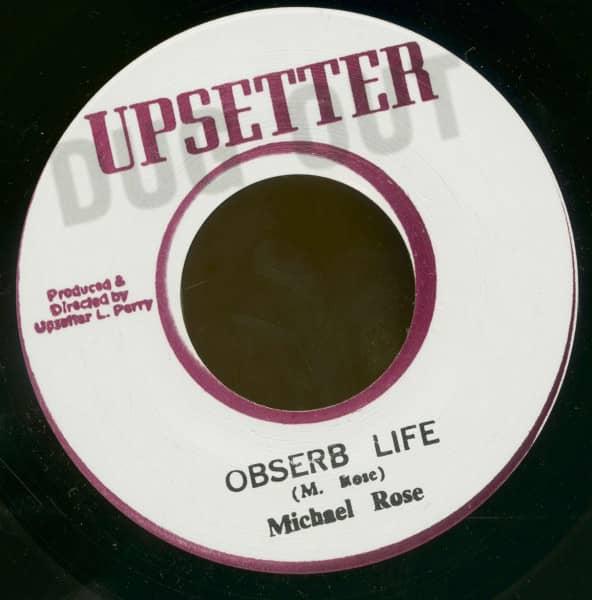 Obserb Life - Obserbing Dub (7inch, 45rpm, BC)