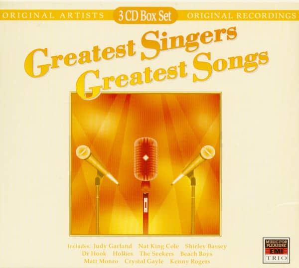 Greatest Singers - Greatest Songs (3-CD)