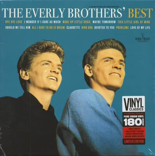 The Everly Brothers' Best (LP, 180g Vinyl, Ltd.)