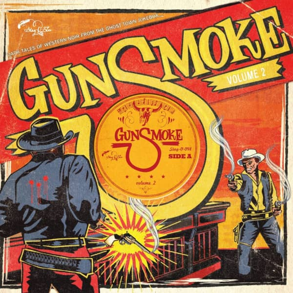 Gunsmoke Vol.2 - Dark Tales Of Western Noir (LP, 10inch, Ltd.)