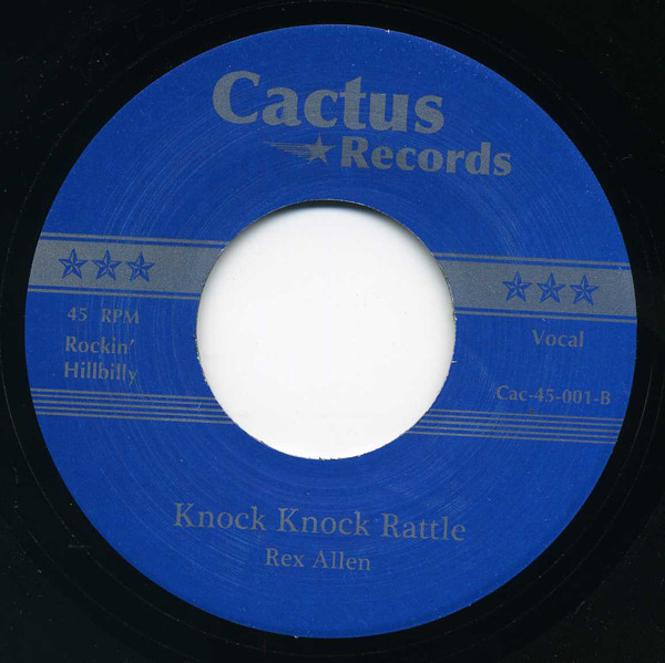 Waitin' In Line - Knock Knock Rattle 7inch, 45rpm