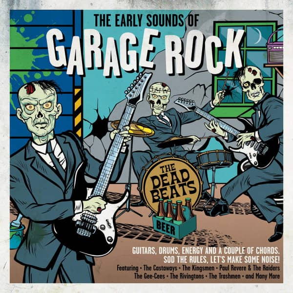 Early Sounds of Garage Rock (2-CD)