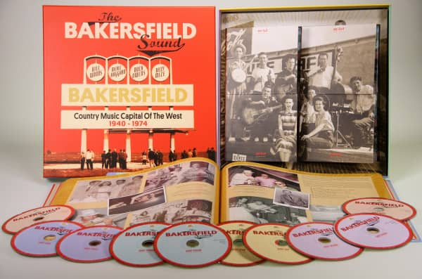 The Bakersfield Sound - Country Music Capital Of The West 1940 - 1974 (10-CD)