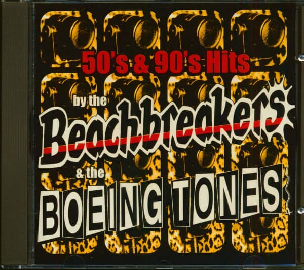 50s & 90s Hits By The Beachbreakers & The Boeingtones (CD)