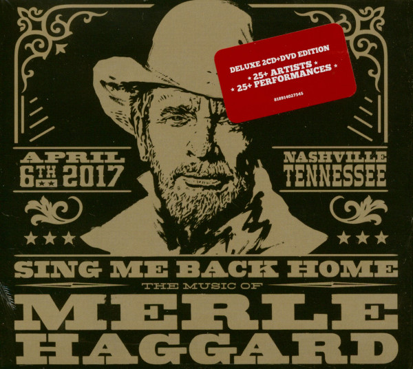 Sing Me Back Home - The Music Of Merle Haggard (2-CD+DVD)