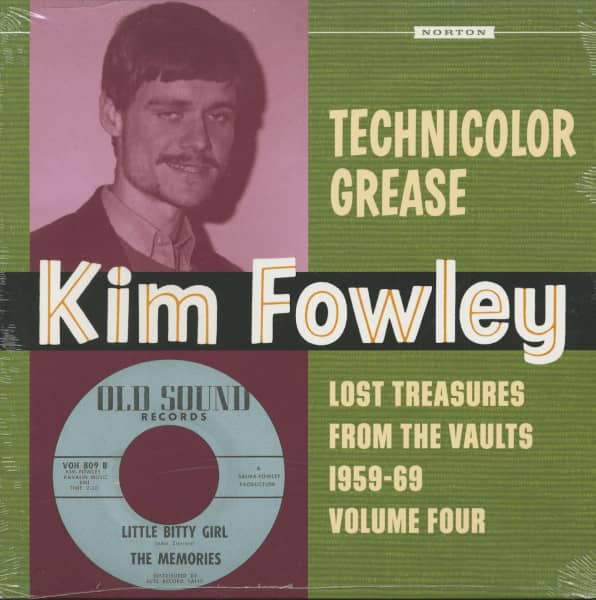 Kim Fowley - Technicolor Grease - Lost Treasures From The Vaults 1956-69, Vol.4 (LP)