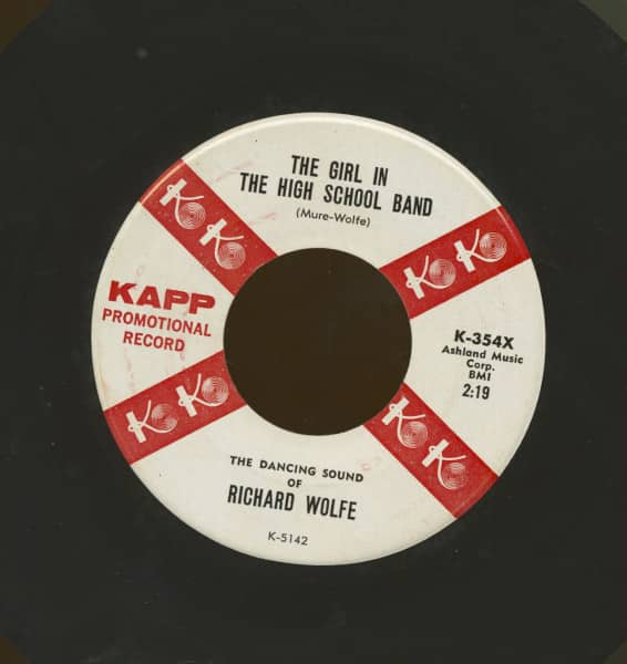 The Girl In The High School Band b-w No Arms Can Ever Hold You (7inch, 45rpm)