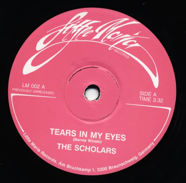 Tears In My Eye - Highschool Love Affair (7inch, 45rpm, SC)