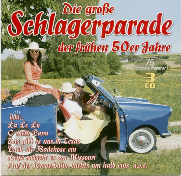 Die große Schlagerparade der frühen 50er Jahre (3-CD)