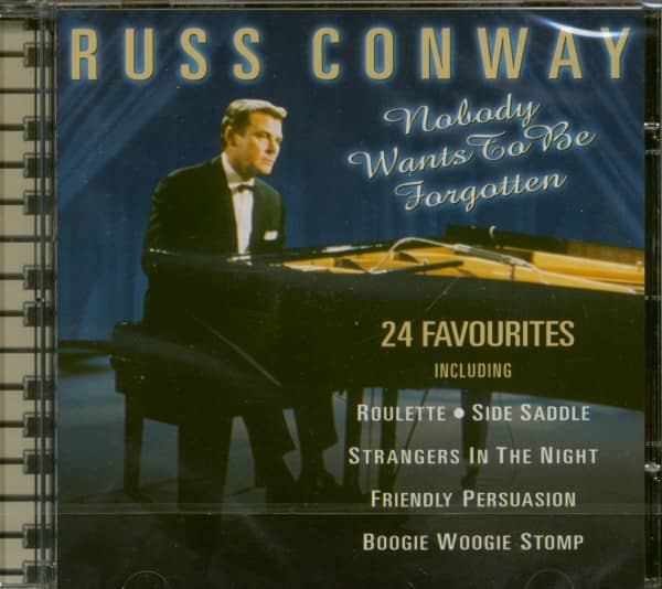 Nobody Wants To Be Forgotten (CD)