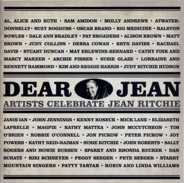 Dear Jean - Artists Celebrate Jean Ritchie (2-CD)