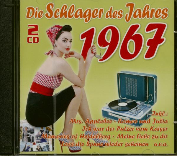 Die Schlager des Jahres 1967 (2-CD)