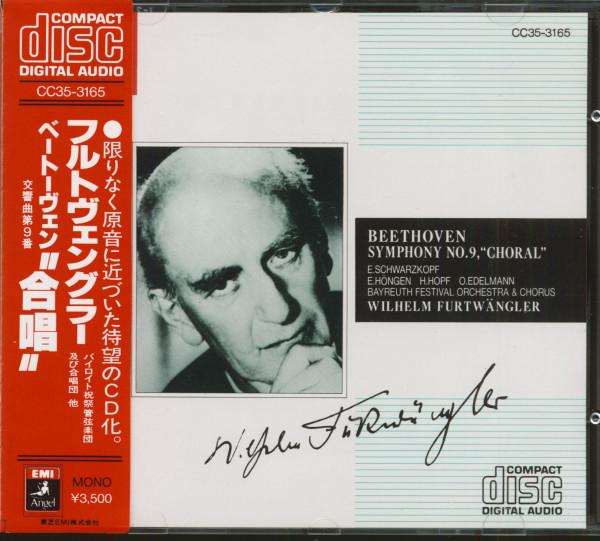 Beethoven Symphony No.9, D-Moll Op. 125 (CD, Japan, EMI Angel Series)