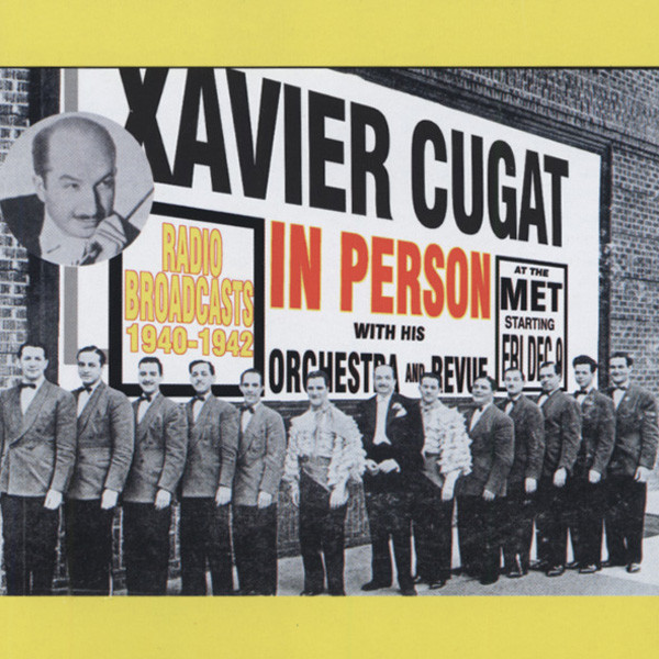 In Person - Radio Broadcast 1940-42