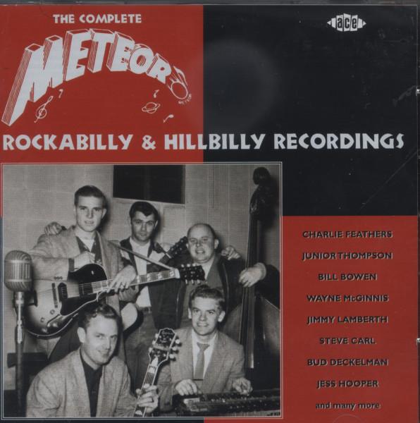 Meteor - Complete Rockabilly & Hillbilly (2-CD)